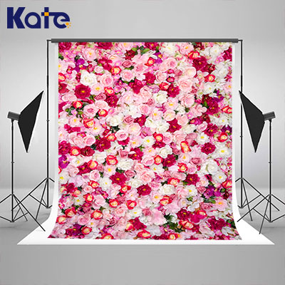 KATE Wood Flowers Background Flower Wall Wedding Vintage Wood Photo Backdrop Newborn Photography Background for Photo Studio kate photo background wedding backdrop pink photography backdrops vintage wood floor background for photography studio