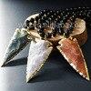 WT N574 2016 New Sale 32 Inch Long Arrow Stone Beads Necklace Fashion Jewelry Charm Arrow