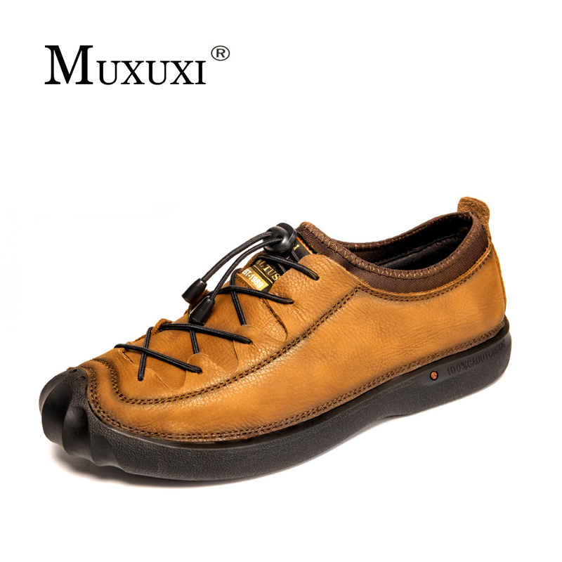 Handmade Men  casual Shoes Genuine Leather Shoes Men Oxford Fashion Shoes Outdoor dring hand made winter snow genuine leather shoes men handmade