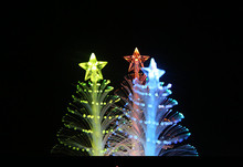 New Year Christmas LED Color Changing Mini Christmas Tree Home Table Party Decor