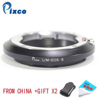Pixco For L/M Eos R Newest Lens Mount Adapter Ring For Leica M Lens to Suit for Canon R Mount Camera