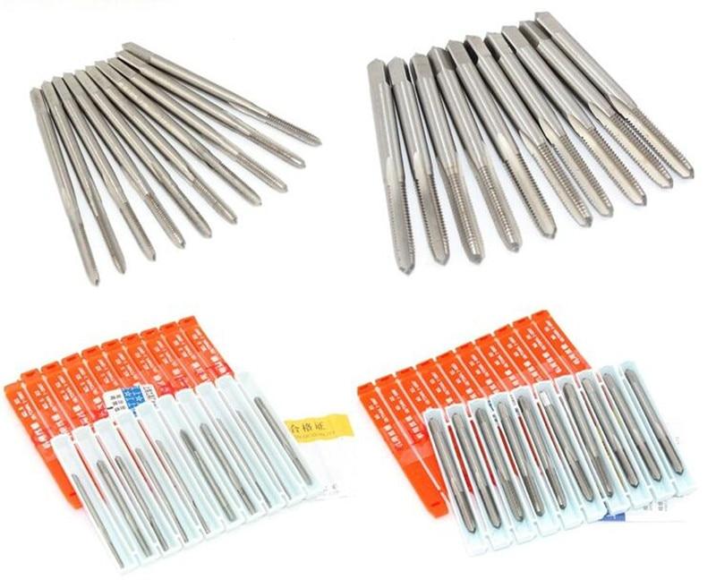 HSS M2 / din 1.3343 Gwintowniki gwintowane wysokiej jakości Rozmiar - Narzędzia ręczne - Zdjęcie 4
