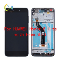 DREAM FISH For Huawei Honor 8 Lite LCD display Touch Screen Digitizer Assembly Replacement For Huawei Honor 8 Lite Mobile Phone
