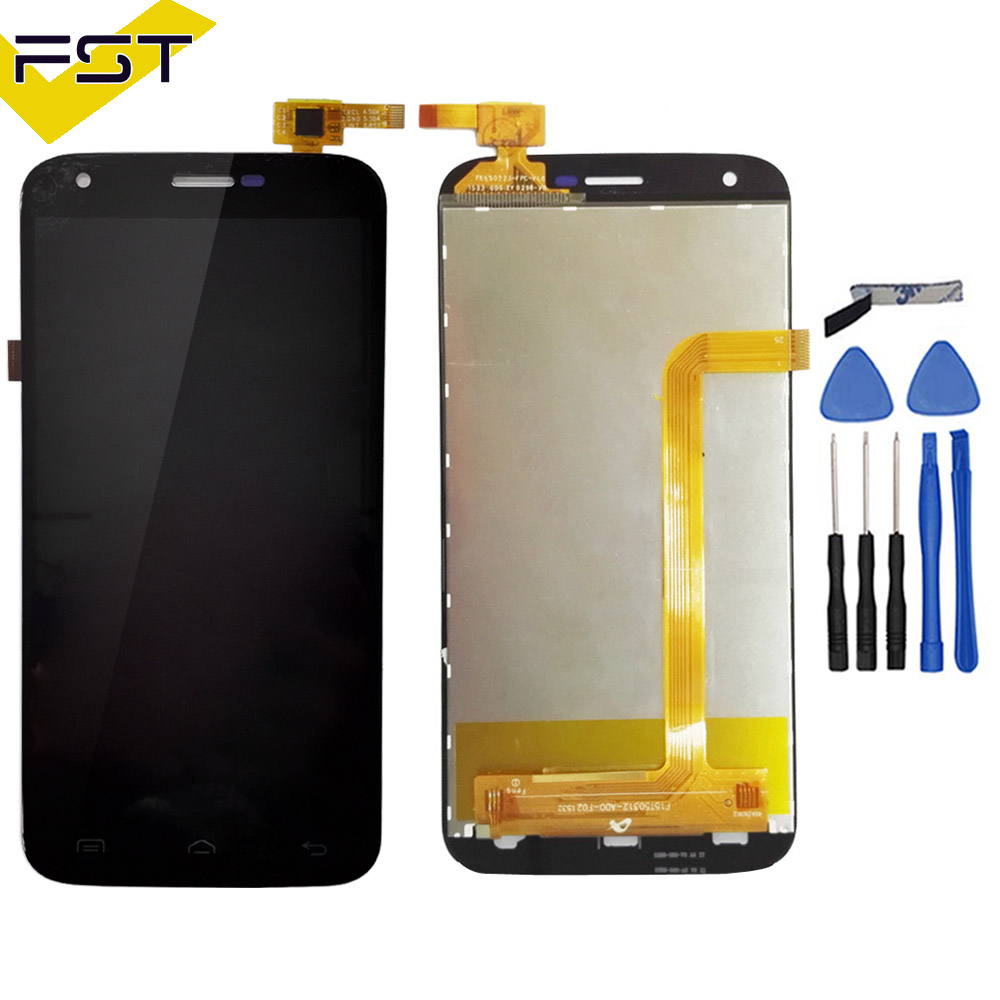 100% Tested For <font><b>DOOGEE</b></font> <font><b>Y100</b></font> <font><b>PRO</b></font> LCD Display + Touch Screen Assembly Replacement MTK6735 Quad Core 4G For <font><b>Doogee</b></font> <font><b>Valencia</b></font> <font><b>2</b></font> image
