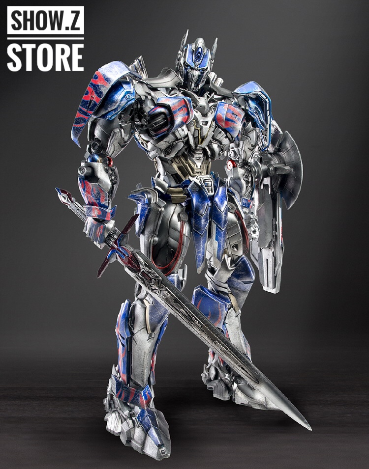 Comicave 1//22 Transformers 5 Optimus Prime Black Head Carving 2 Replacement Face