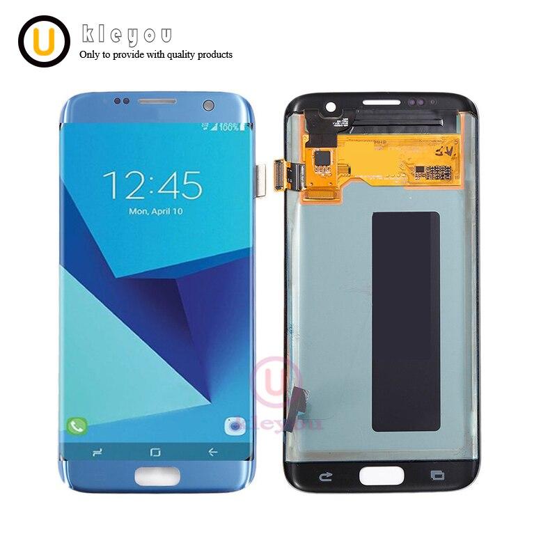 Hohe Qualität 5,5 ''OEM LCD Für SAMSUNG Galaxy S7 rand LCD Display G935 G935F Touchscreen Digitizer Montage Ersatz teile