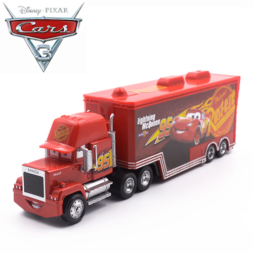 Disney Pixar Cars 3 For Kids Jackson Storm Truck Lightning McQueen Mack Diecasts Toy Vehicles Cartoon Models Christmas Gifts