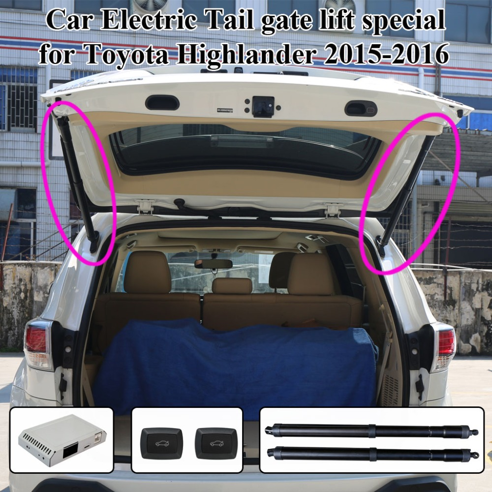Smart Electric Tail Gate Lift Easily For You To Control Trunk Suit To Toyota Highlander 2015-2016