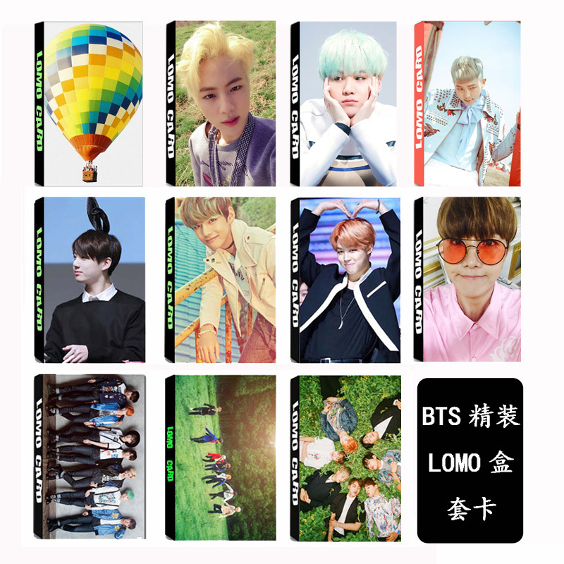 [TOOL]KPOP BTS Group Bangtan Boys YOUNG FOREVER Album LOMO Cards K-POP Fashion Self Made Paper Photo Card HD Photocard #0381 brooklyn bridge pop up card 3d new york souvenir cards