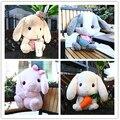 Lolita conejo de la felpa 40 cm suave lindo Lop conejito Cosplay princesa dulce muñeca Loppy conejito tímido conejito estilo de la navidad regalo de los niños