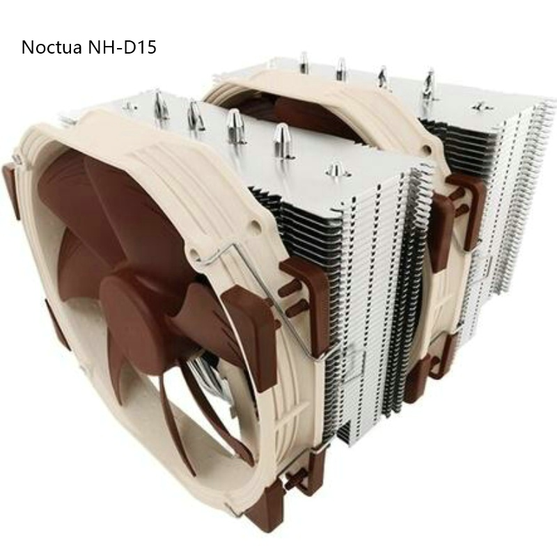 CPU cooler Noctua NH-D15 for Intel LGA775 1150 1151 115x 2011 Cooling for AMD radiator fan computer cooler radiator with heatsink heatpipe cooling fan for hd6970 hd6950 grahics card vga cooler