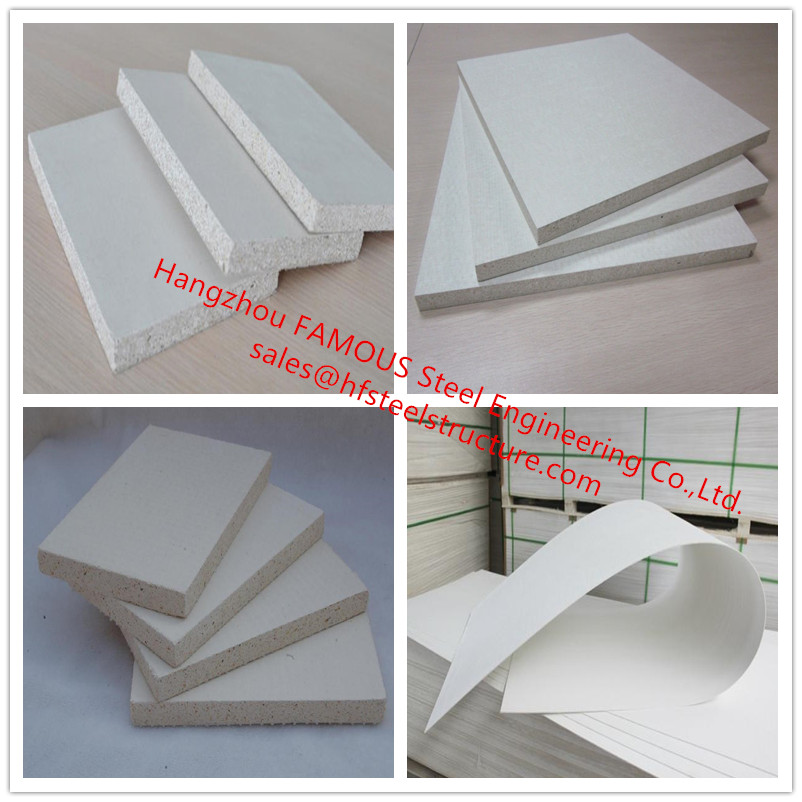 Eco-friendly Moisture Proof Magnesium Oxide Panel Lightweight Sound Absorbing Magnesium Oxide Sulfate Board