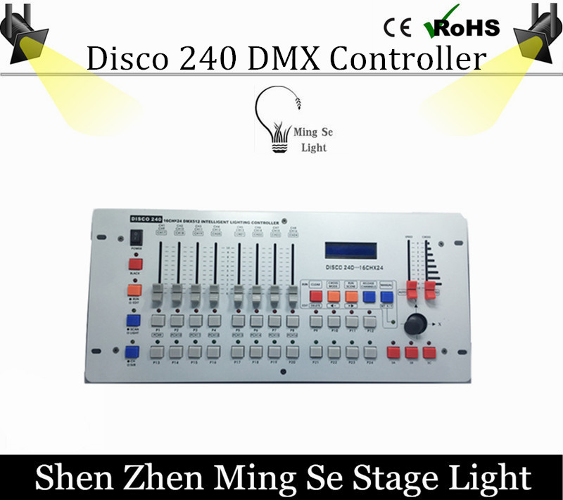 цена Hot sale International standard DMX 240 controller controller moving head beam light console DJ 512 dmx controller equipment онлайн в 2017 году