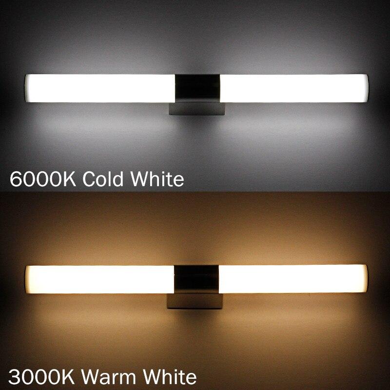 LED Mirror Light 54cm 12W Bathroom Light Wall Sconce Waterproof ...
