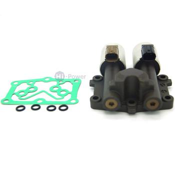 New 28260RG5004 28260-RG5-004  Transmission Dual Linear Solenoid Fits For Honda Civic + Gasket+Ring