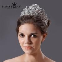 Gogeous Ultlarge Sparkling Crystal Bridal Wedding Crown Tiaras,Married Jewelry Wedding Hairwear Hair Accessory