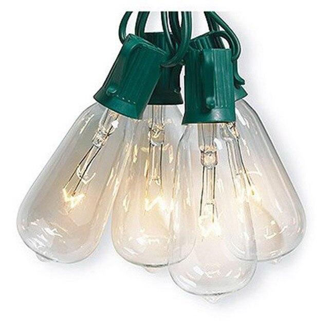 Aliexpresscom Buy 2017 New ST40 Edison Style String Light Set 7W