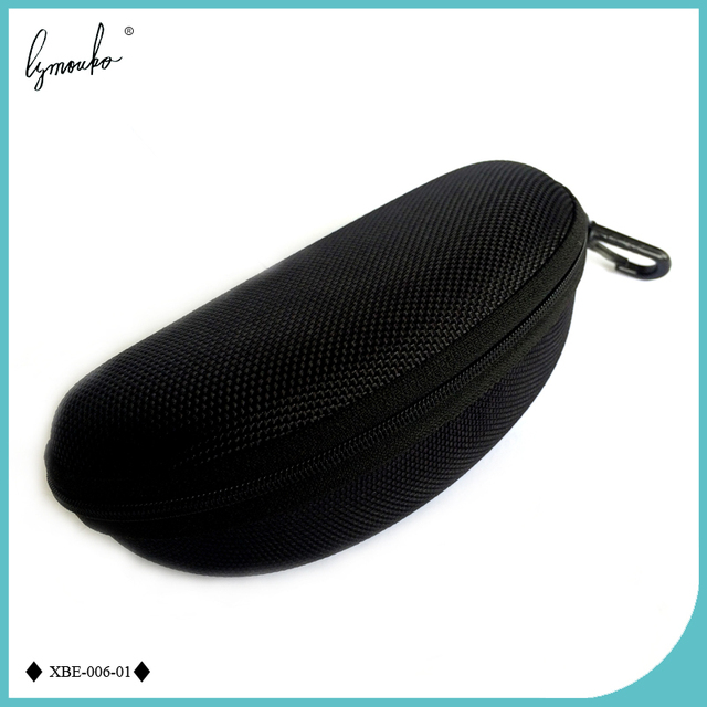 36dd28a0b8 Lymouko Fashion Travel Portable Extra Size Zipper EVA Oxford Black  Sunglasses Case Box for Men and Women