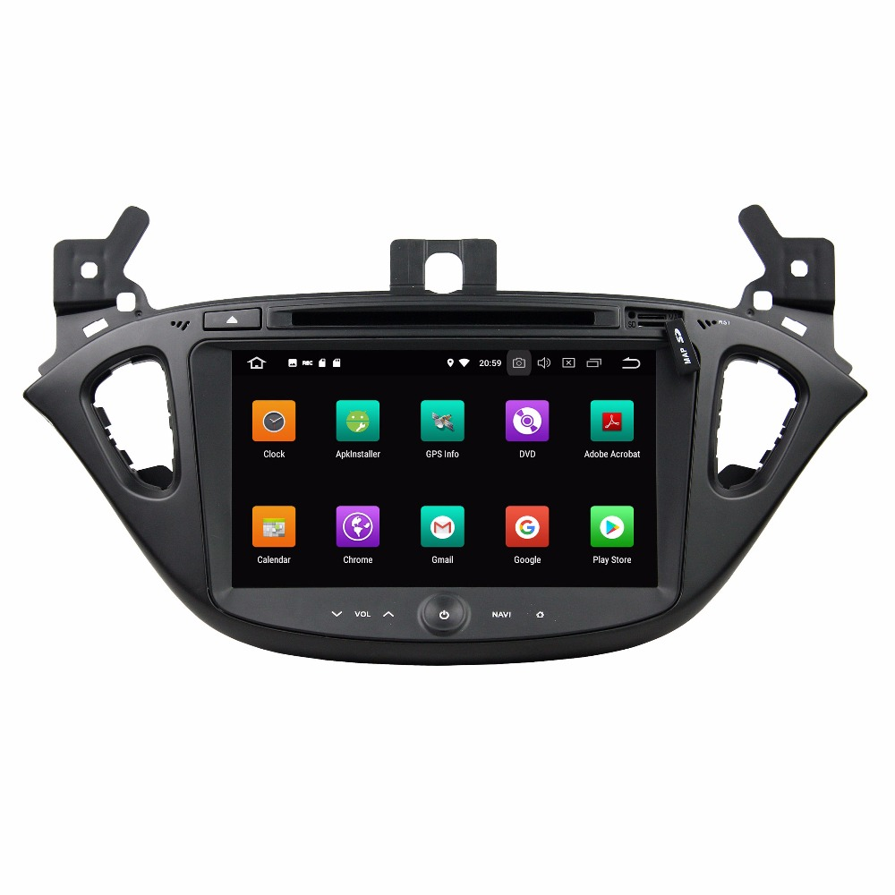 KLYDE 8 2 Din 8 Core Android 8.0 Car DVD Player For OPEL CORSA 2015 2016 Car Audio Stereo Radio Car Multimedia Player