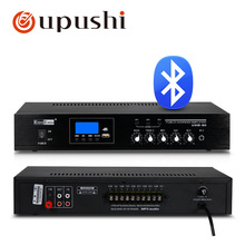 80w bluetooth audio amplifier 3 zone pa stereo amp oupushi 100V digital power amplifier board with