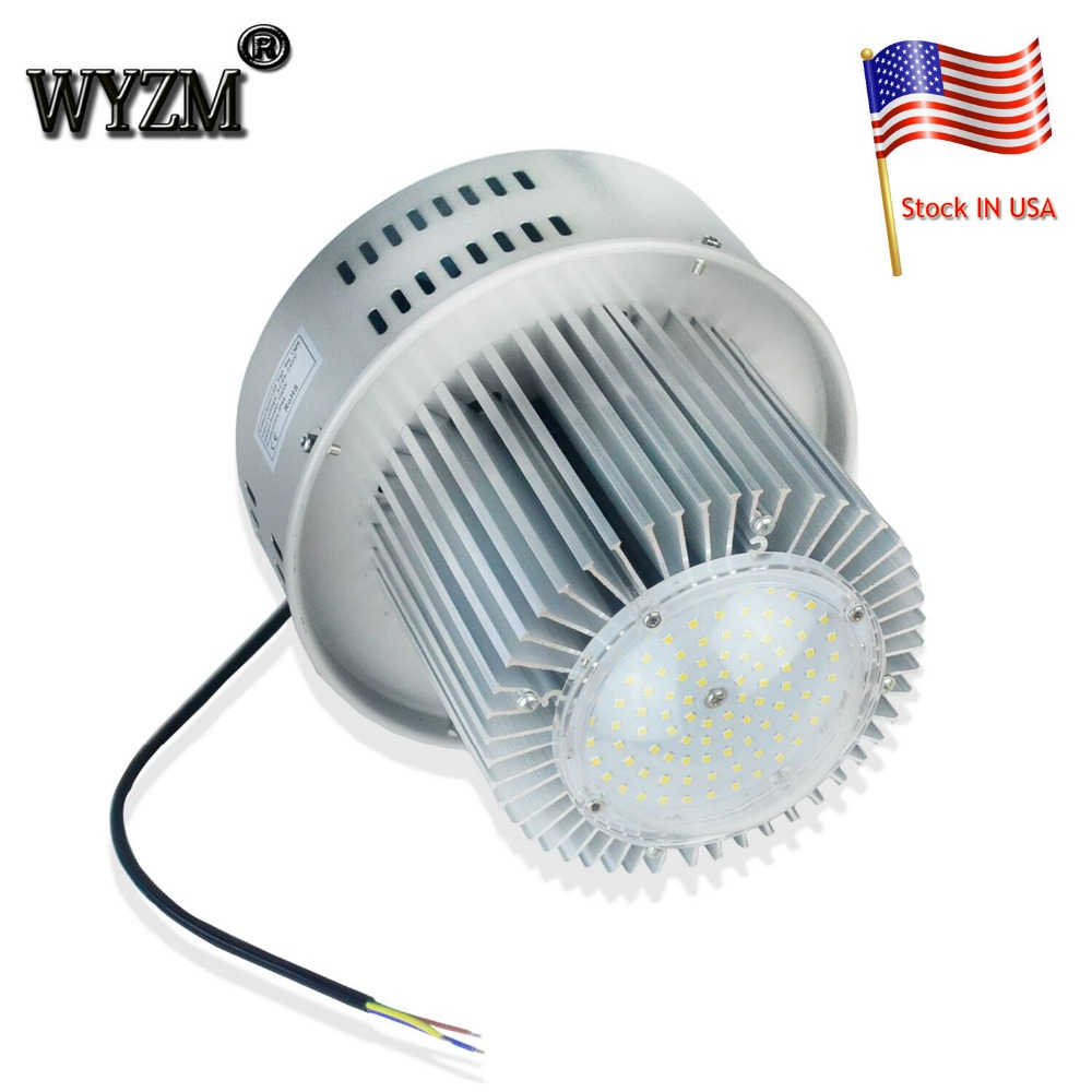 Shipping from USA 100W High Power LED High Bay Light IP65 SMD5730 LED Chip Industrial led Highbay Light For Warehouse Lighting free shipping czh618f 100c 100w 2u fm stereo radio transmitter exciter power adjustable from 0 to 100w