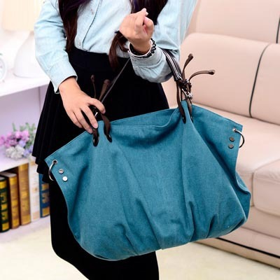 Fl Wb05 Famous Designer Handbag Extra Large Canvas Tote Bag Las Shoulder Rivet