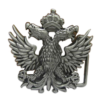 Free Shipping Clothing Men Belt Buckle Metal Cowboy Designer Eagle Crown Logo DIY Clothes Fashion Belt