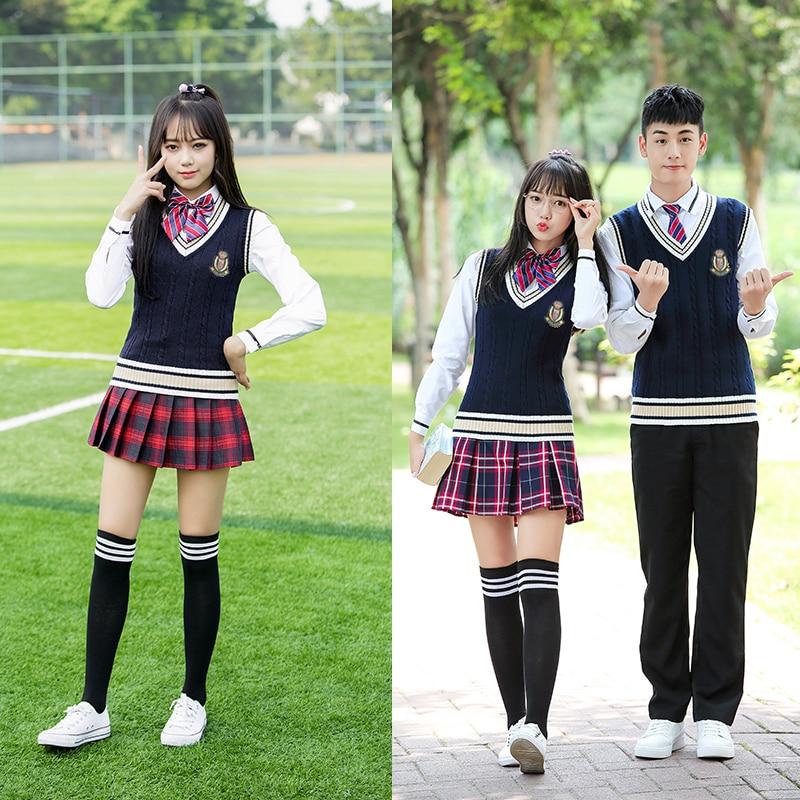 Middle school uniforms school style Korean high school ...