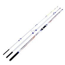 wholesale 2pcs/pack 4.2m 3 Sections Carbon fiber Surf casting Rod carp rod
