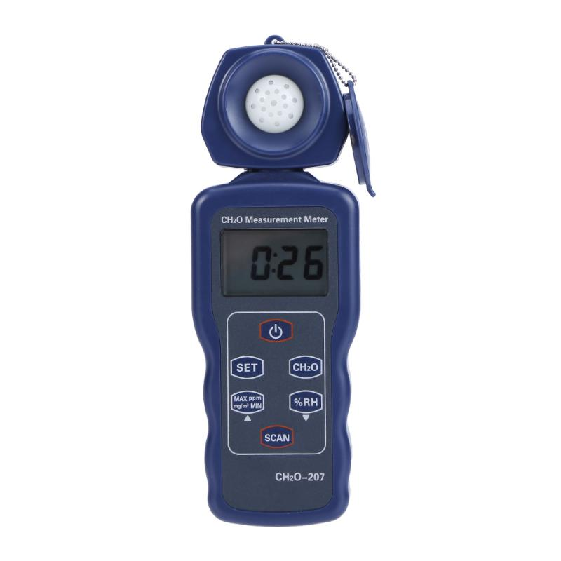 New Portable Digital Handheld LCD Air Quality Formaldehyde CHO Gas Detector Humidity