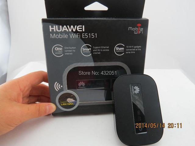 Huawei E5151 abrió 3 G WCDMA GSM HSDPA 21.6 Mbps Wireless LAN Router WiFi MiFi Router