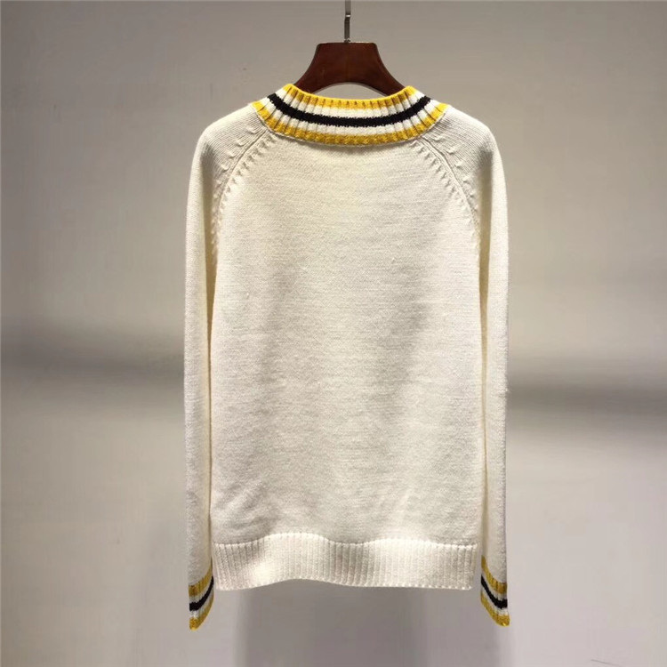 Haut Gamme Laine Couture Élégant En Pull Femmes Tricoté V Mode Marque Lâche De Kenvy Hiver cou qwYZI1xXnz