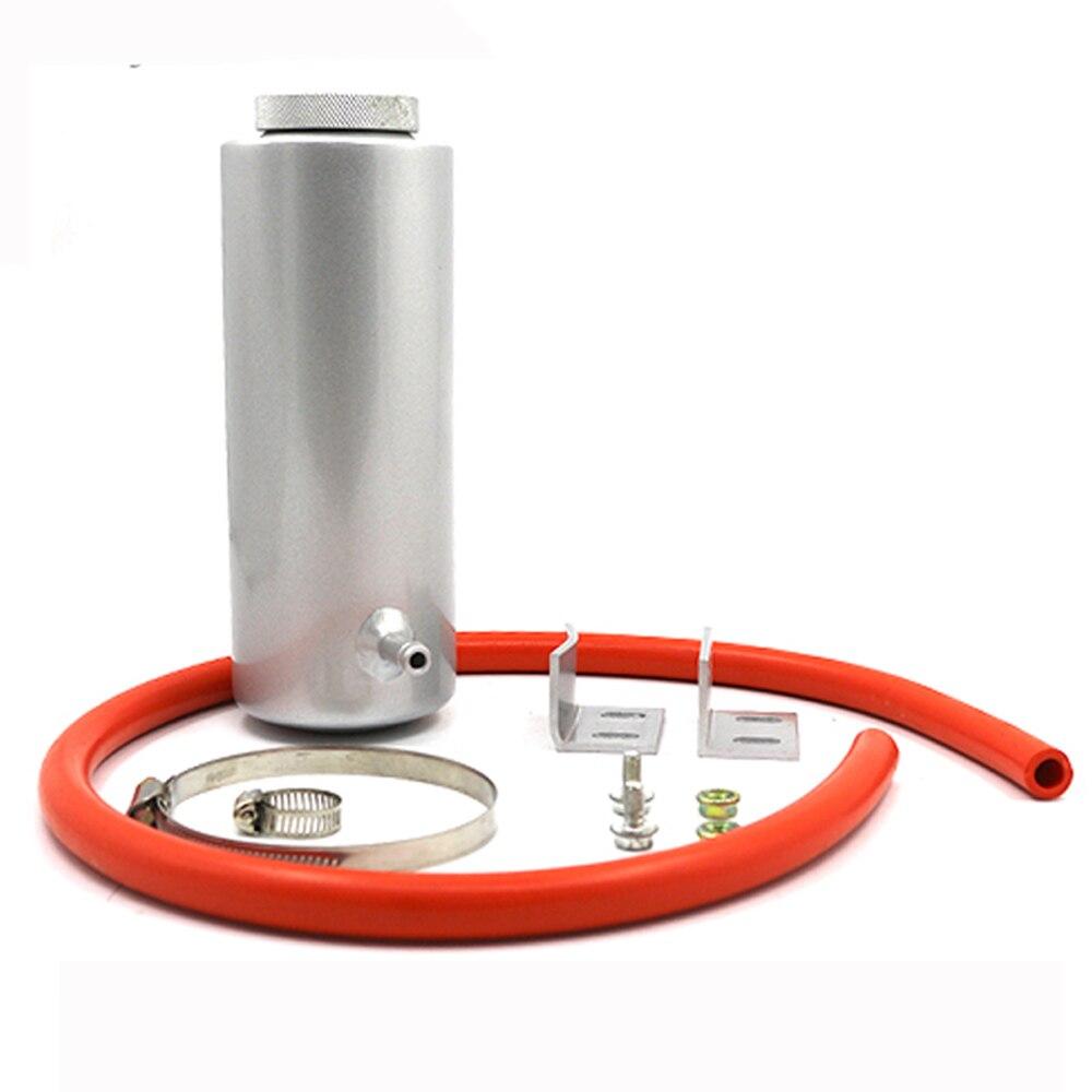 CNSPEED En Alliage D'aluminium Universel Peut 800 ml Cylindre Radiateur Débordement Réservoir Réservoir De Liquide De Refroidissement noir/bleu/rouge/violet/argent