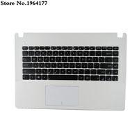 New US Keyboard for Asus X450CC X450L X450 X450C X450LA X450CA X450CP upper C Case English Laptop palmrest top case frame