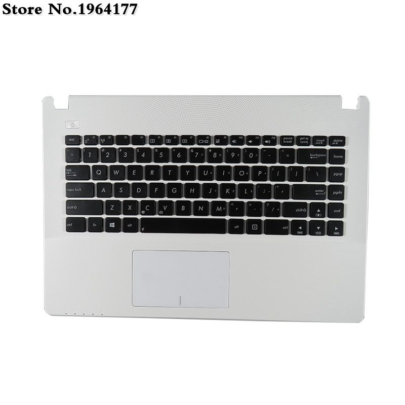 Replacement for ASUS X450 X450V X450VB X450VC X450C X450E X450C X450CA X450CC X450CP X450VC X450VP Series Laptop English Keyboard New US Black Keyboard Without Frame