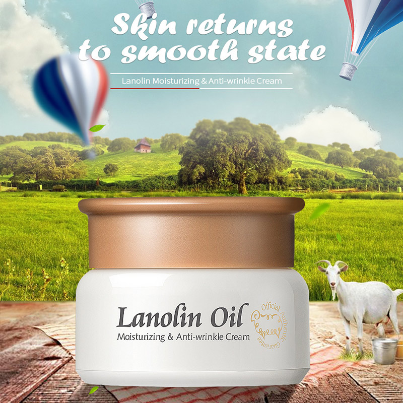 1 Pcs Lanolin Oil Cream Effective Women Face Beauty Firming Skin Facial Care Whitening Moisturizing Cream Lanolin Oil Cream