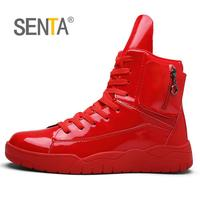 SENTA Winter 2017 Ankle Boots Skateboarding Shoes For Men High Top Sport Shoes Man Brand Outdoor