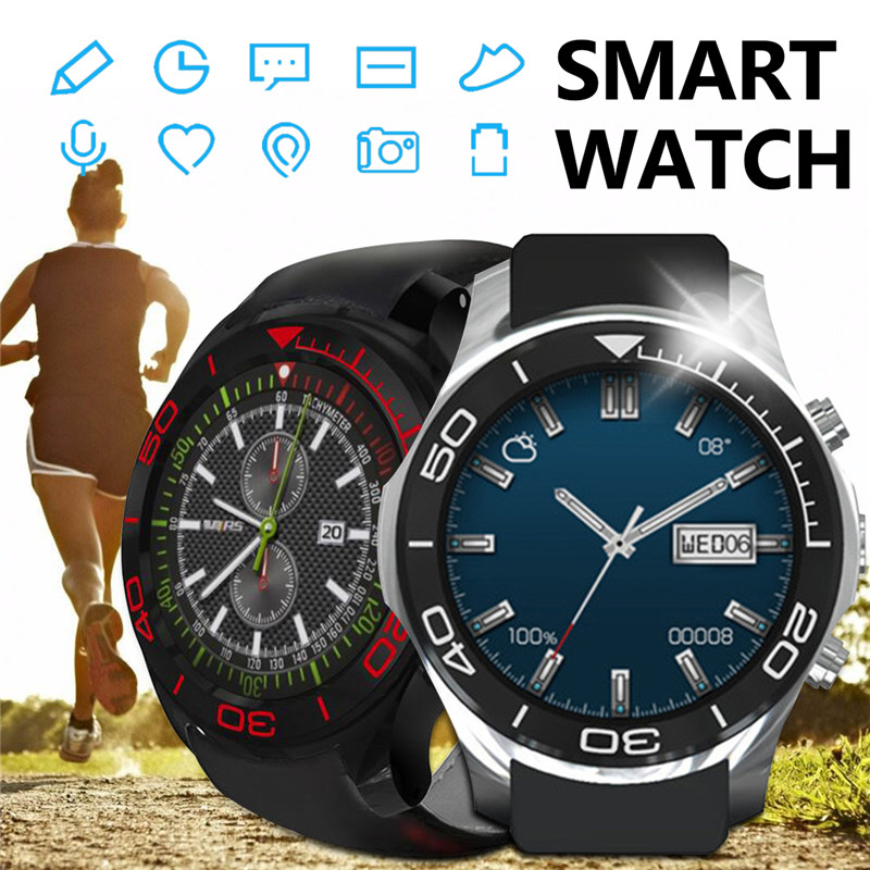 KINCO MTK 6580 512MB+8GB Bluetooth Camera GPS Smart Watch Phone Heart Rate SIM Pedometer SOS Smart Watches for IOS/Android children s smart watch with gps camera pedometer sos emergency wristwatch sim card smartwatch for ios android support english e