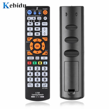 kebidu Universal Remote Control With Learn Function Replacement Suitable For Smart TV DVD SAT