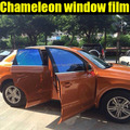 Good quality chameleon tint window film with best price by free shipping with size:50cm*300cm/lot