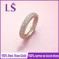 LS Hot Sale Rose Gold Inspiration Within Ring Wedding Rings For Women Compatible With Original Jewelry