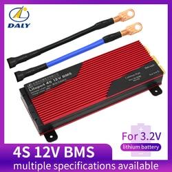 Daly 12 v lifepo4 bms 4S 80a/100a bateria placa de proteção 18650 carregador pcb bms para o padrão do motor de broca 16.8 v/melhorar/equilíbrio