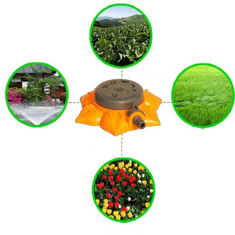 Hohe Qualität ABS Multi Funktion Rasen Sprinkler Home Garten Bewässerung Lotus Düse 8 Verschiedene Beregnung Arten Dusche