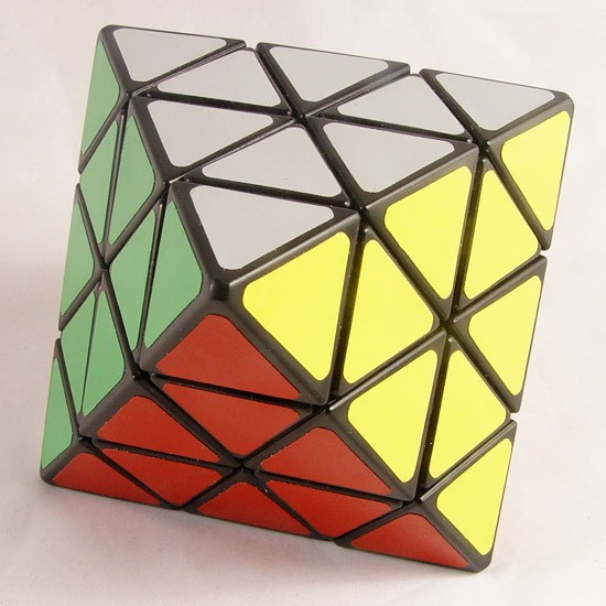 Lanlan Octahedron Magic Cube Puzzles Black And White Learning&Educational Cubo Magico Toys