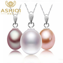 Exquisite Ladies' 10-10.5mm AAAA Natural Freshwater pearls 925 sterling silver necklace & Pendants/pearl jewelry wholesale