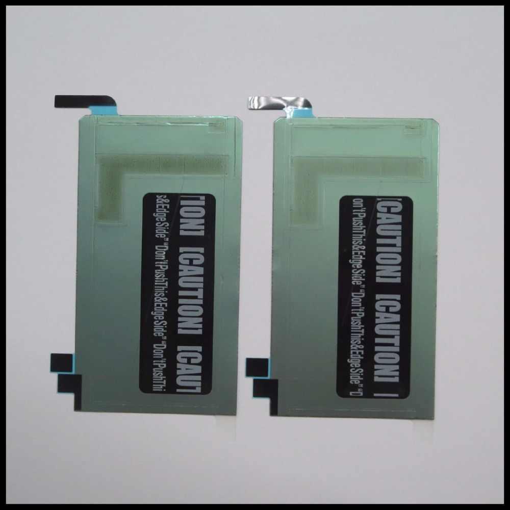 1 Piece תצוגת מסך LCD חדשה חזרה דבק דבק ברז קצה רצועת מדבקה לגלקסי S6 G925F G925 באיכות גבוהה החלפת