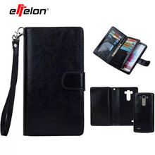 2 in 1 Detachable Leather Wallet Flip Cover Case for LG G4 G5 Case Cover For LG G3 D858 D859 D855 Card Holders & Photo Frame