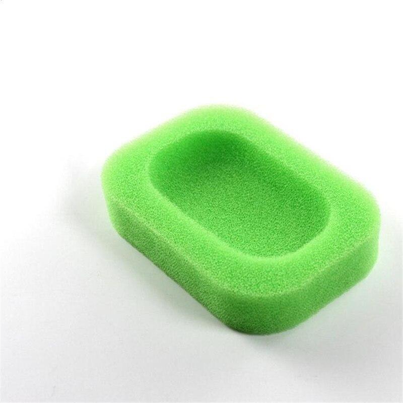 Домашний 2 шт. Набор для ванной Губка Мыло Dishe коробка абсорбент легко сушить мыло держатель путешествия Кухня Аксессуары для дома мыльница H776