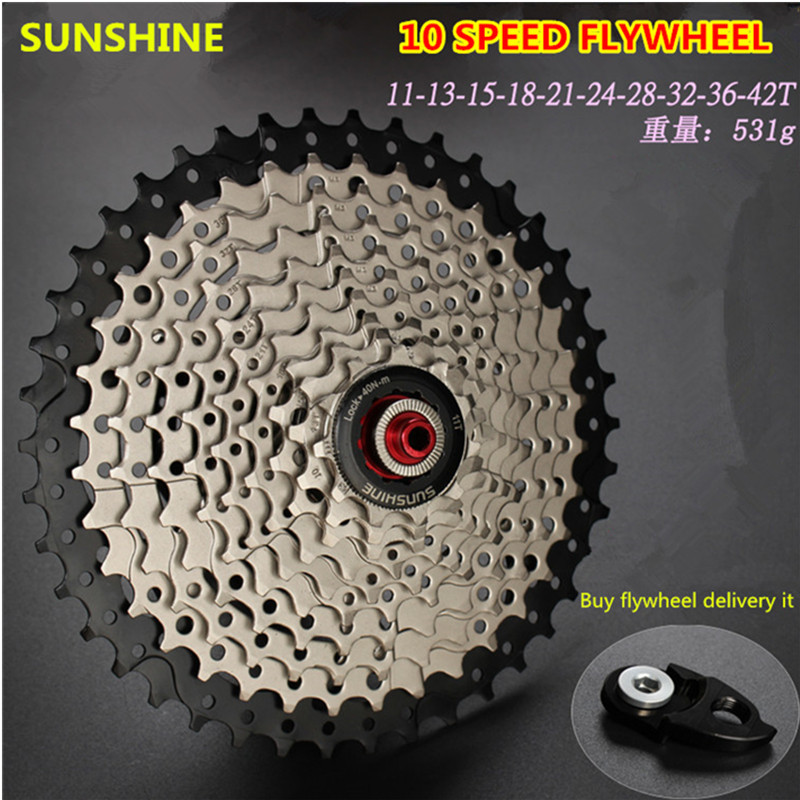 SUNSHINE MTB Mountain Bicycle Freewheel 11s 22s Speed Freewheel Cassette 11-42T/46T/50T for Shimano M7000 M8000 M9000 XT SLX XTR ztto black bicycle freewheel 11 speed 11 46t wide ratio mtb bike cassettes sprockets for shimano xt slx m7000 m8000 m9000