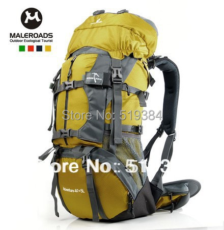 travel bag sport backpack waterproof outdoor Climbing mountaineering hiking camping women&men 45L 55L 65L